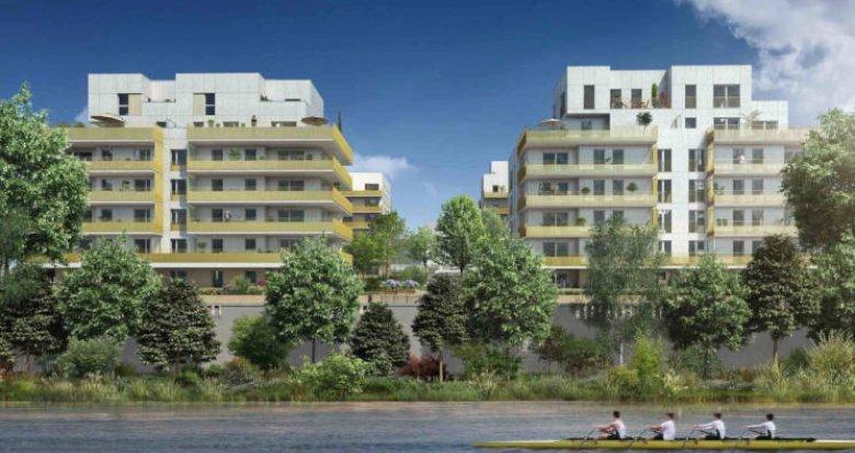 Achat / Vente immobilier neuf Lyon 9 proche Saône (69009) - Réf. 3841