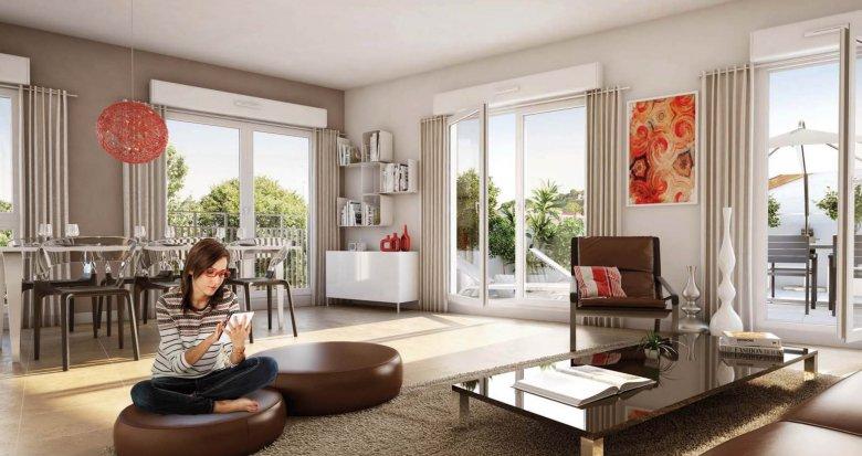 Achat / Vente immobilier neuf Lyon 9 quartier Valmy (69009) - Réf. 1366