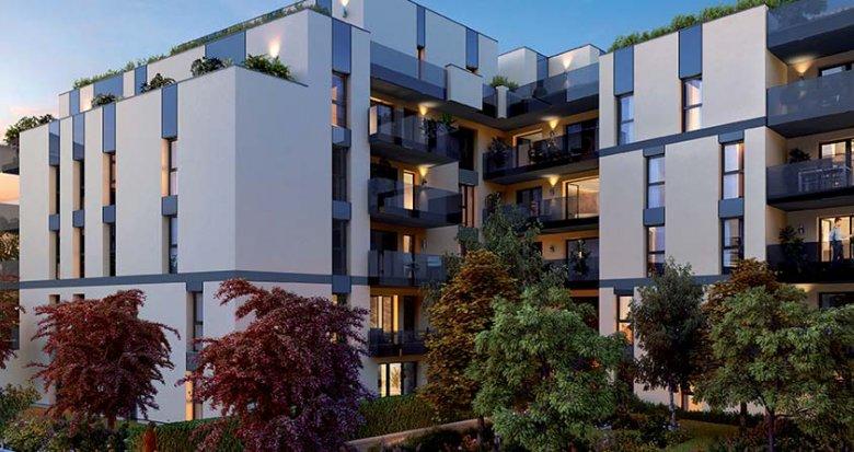 Achat / Vente immobilier neuf Lyon Croix Rousse proche métro Hénon (69004) - Réf. 1833