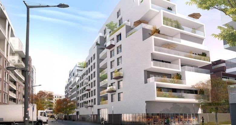 Achat / Vente immobilier neuf Lyon quartier Coeur 8ème Monplaisir (69008) - Réf. 1103