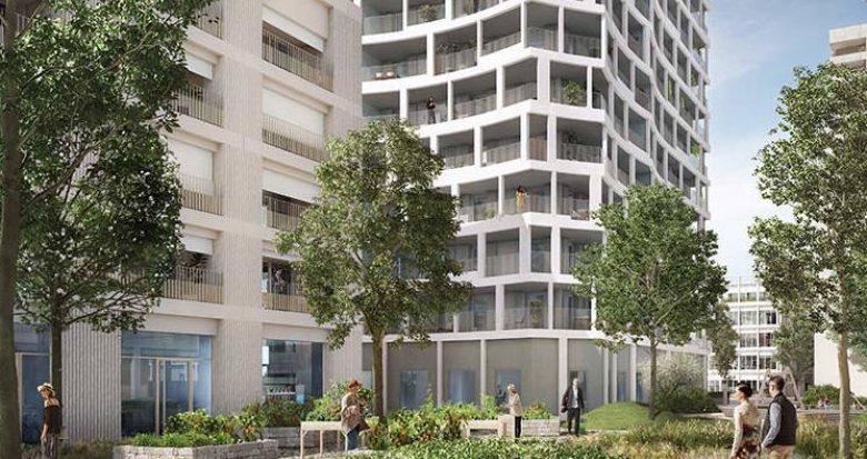 Achat / Vente immobilier neuf Lyon  quartier Confluence (69002) - Réf. 3463