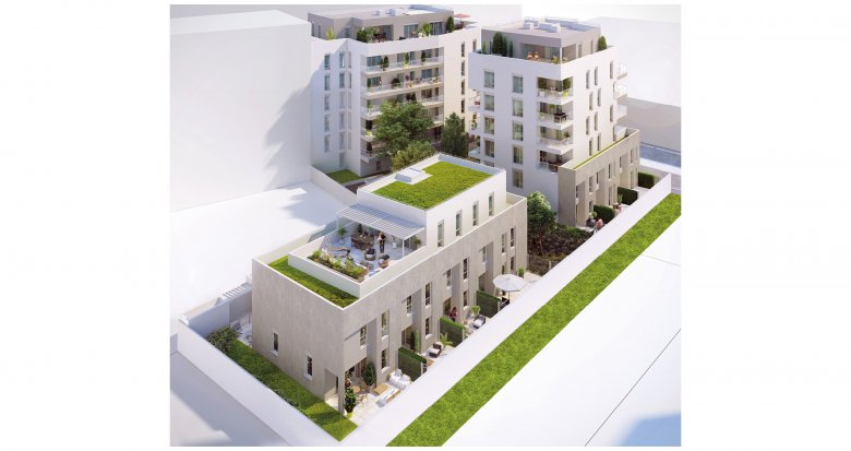Achat / Vente immobilier neuf Lyon quartier Gerland (69007) - Réf. 2238
