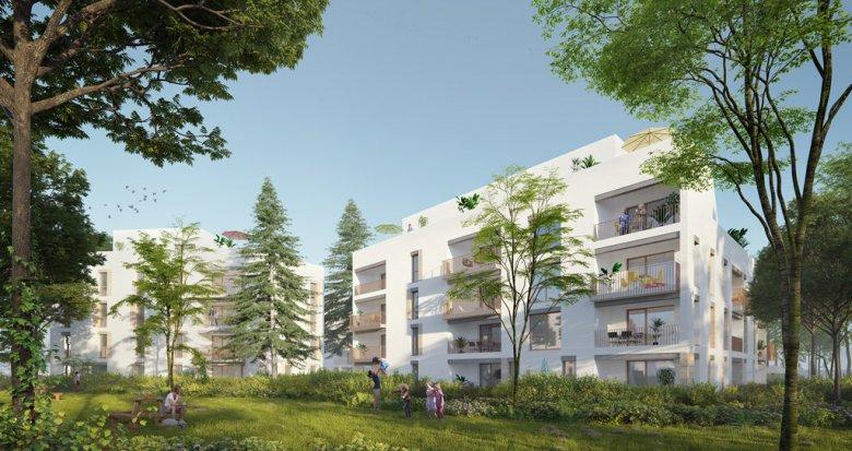 Achat / Vente immobilier neuf Lyon quartier Ménival-Battières-La Plaine (69005) - Réf. 1687
