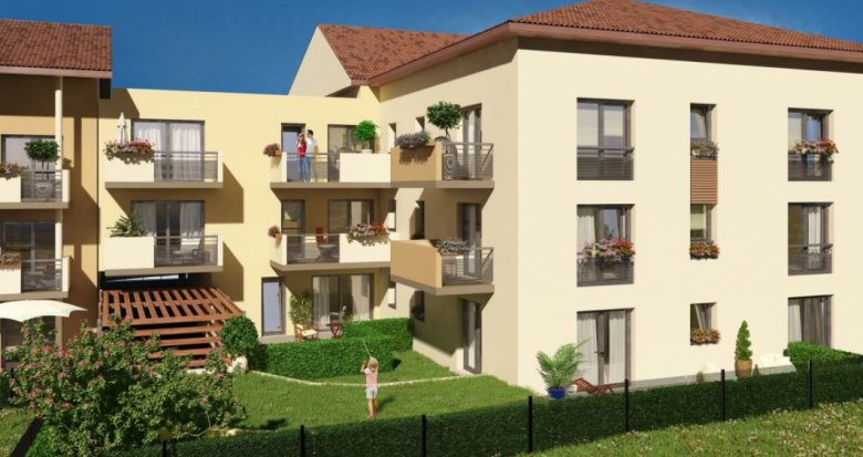 Achat / Vente immobilier neuf Meyzieu à 10 minutes du centre-ville (69330) - Réf. 2224