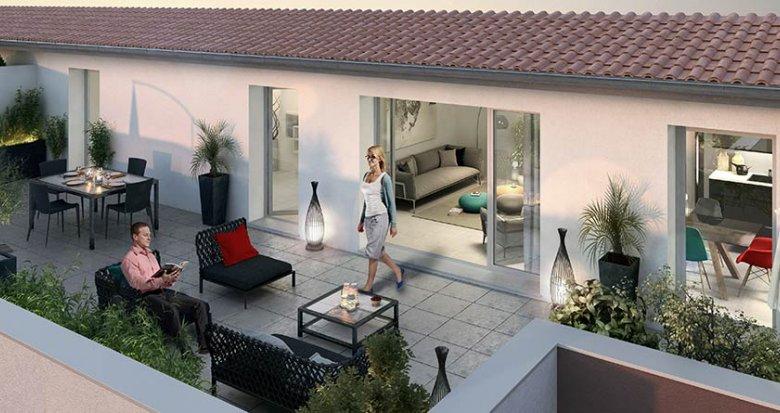 Achat / Vente immobilier neuf Meyzieu proche du centre-ville (69330) - Réf. 434