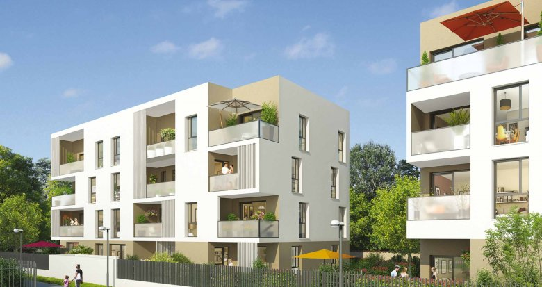Achat / Vente immobilier neuf Meyzieu proche mairie (69330) - Réf. 576