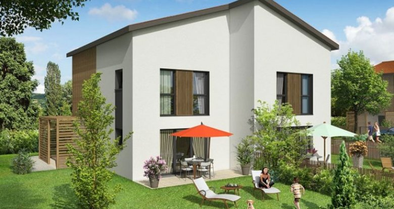 Achat / Vente immobilier neuf Millery proche commerces (69390) - Réf. 1315