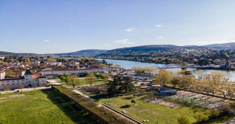 Achat / Vente immobilier neuf Neuville-sur-Saône proche du coeur de village (69250) - Réf. 5882