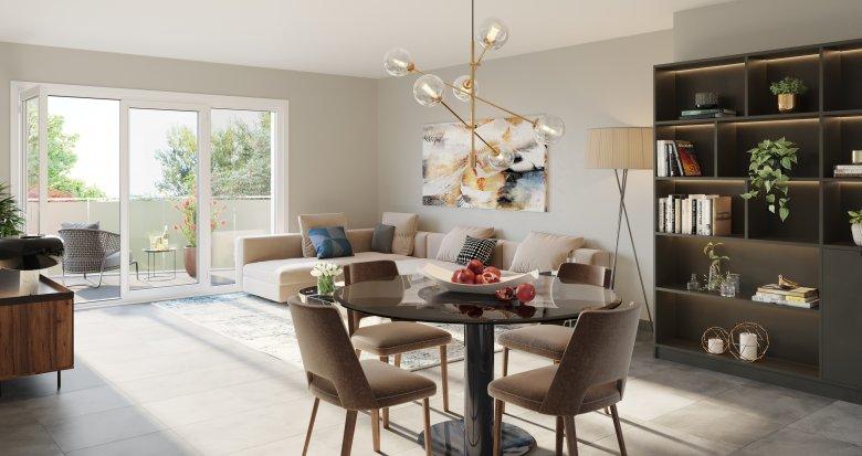 Achat / Vente immobilier neuf Neuville-sur-Saône quartier résidentiel au calme (69250) - Réf. 5382