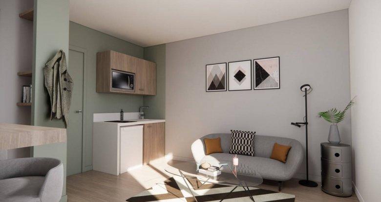 Achat / Vente immobilier neuf Pierre-Bénite proche Parc Georges Manillier (69310) - Réf. 6120