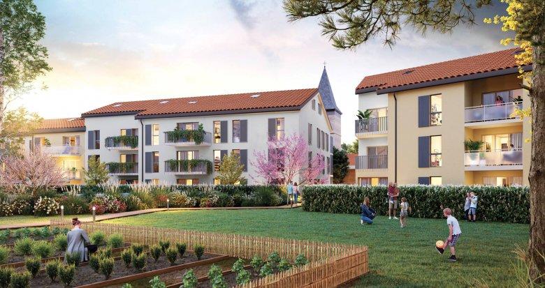 Achat / Vente immobilier neuf Rillieux-la-Pape au coeur du village de Vancia (69140) - Réf. 6093