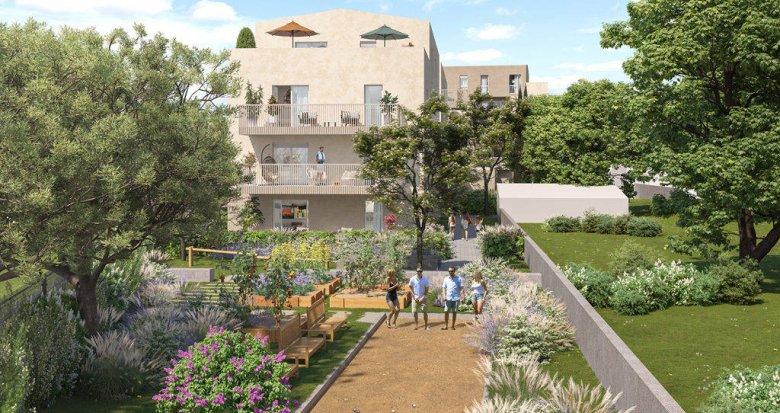 Achat / Vente immobilier neuf Rillieux-la-Pape sur la place de Crépieux (69140) - Réf. 6273