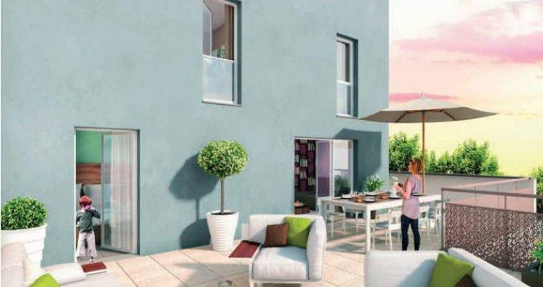 Achat / Vente immobilier neuf Saint-Fons proche centre (69190) - Réf. 3399