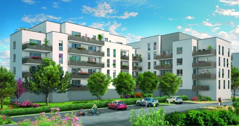 Achat / Vente immobilier neuf Saint-Fons proche gare (69190) - Réf. 561