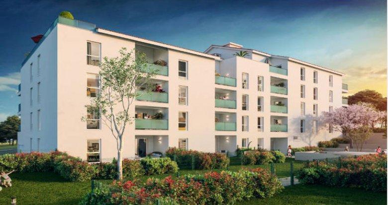 Achat / Vente immobilier neuf Saint-Fons proche gare TER (69190) - Réf. 3508