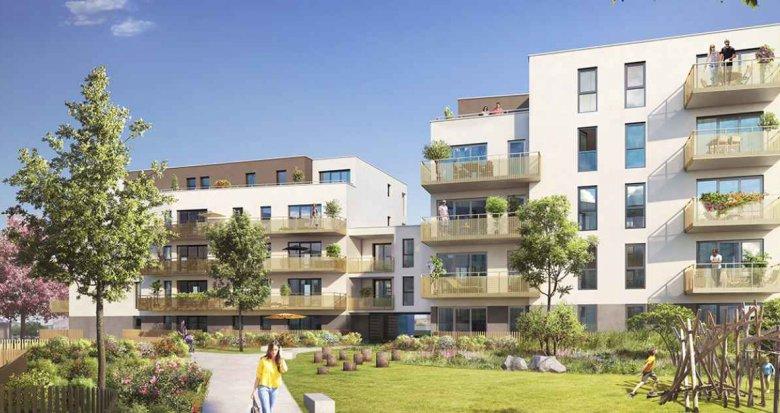 Achat / Vente immobilier neuf Saint Priest au sud de Lyon (69800) - Réf. 2065