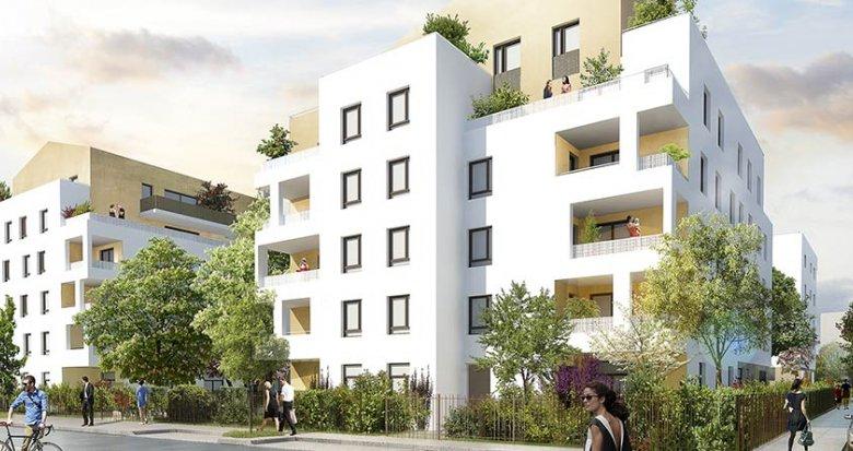 Achat / Vente immobilier neuf Saint-Priest proche Lyon (69800) - Réf. 1844