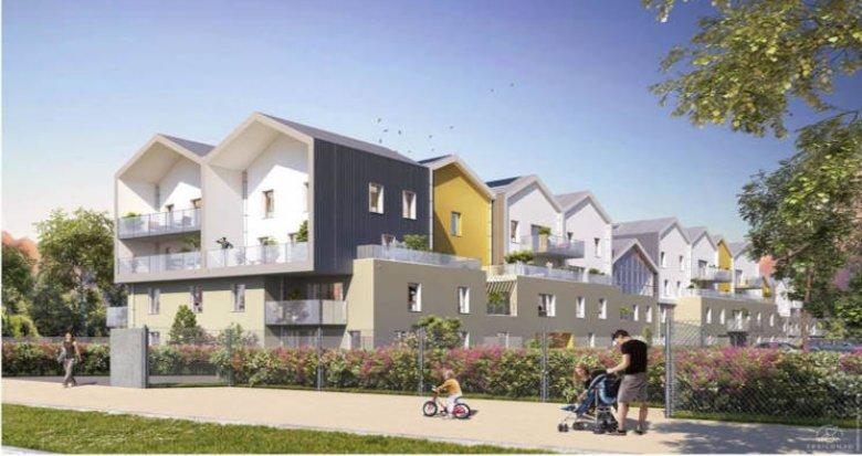 Achat / Vente immobilier neuf Saint-Priest proche parc Parilly (69800) - Réf. 2923