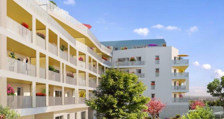 Achat / Vente immobilier neuf Saint-Priest proche Porte des Alpes (69800) - Réf. 1454
