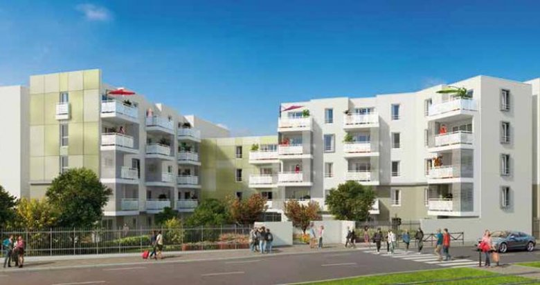 Achat / Vente immobilier neuf Saint-Priest proche tramway T2 (69800) - Réf. 423
