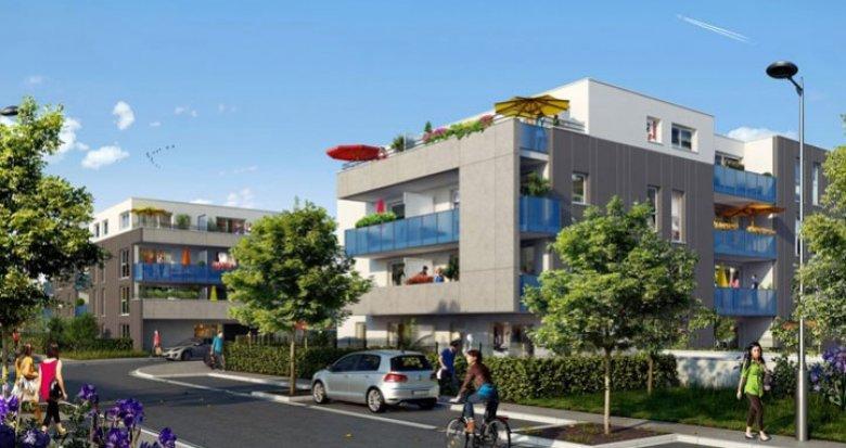 Achat / Vente immobilier neuf Saint-Priest quartier neuf (69800) - Réf. 294