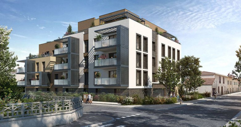 Achat / Vente immobilier neuf Sainte-Foy-lès-Lyon proche Champvert Point du Jour (69110) - Réf. 6270