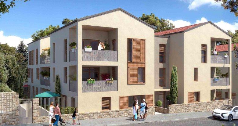 Achat / Vente immobilier neuf Sainte-Foy-lès-Lyon proche du centre (69110) - Réf. 1362