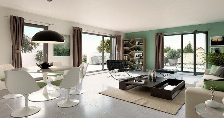 Achat / Vente immobilier neuf Sainte-Foy-lès-Lyon quartier résidentiel 15 minutes de Lyon (69110) - Réf. 2026