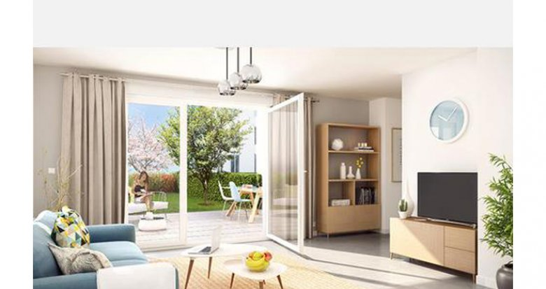 Achat / Vente immobilier neuf Sathonay-Camp quartier Castellane (69580) - Réf. 2535