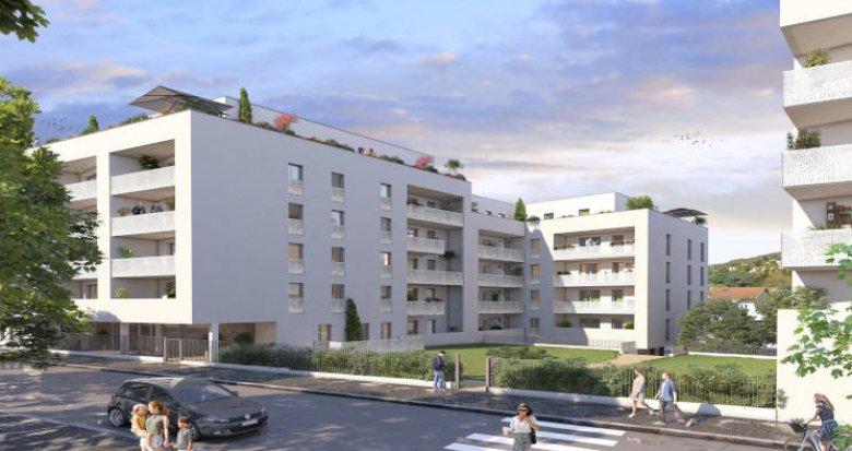 Achat / Vente immobilier neuf Tarare à côté de la gare (69170) - Réf. 5937
