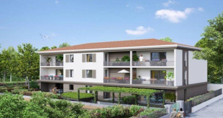 Achat / Vente immobilier neuf Tassin-la-demi-lune proche centre (69160) - Réf. 3002