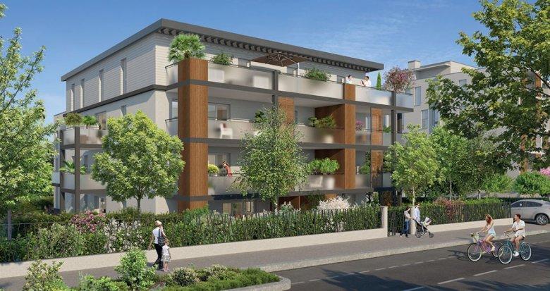 Achat / Vente immobilier neuf Tassin-la-Demi-Lune proche centre (69160) - Réf. 2242