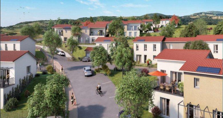Achat / Vente immobilier neuf Vaugneray proche commodités et centre (69670) - Réf. 3234
