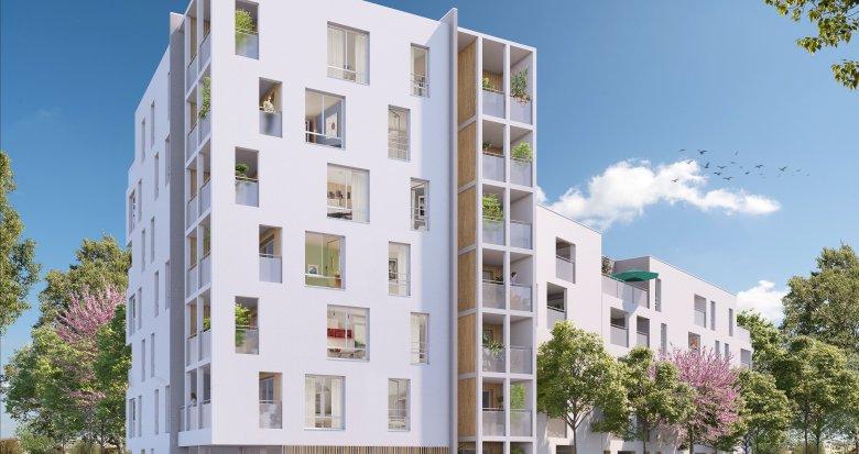Achat / Vente immobilier neuf Vaulx-en-Velin à 10 minutes à pied du métro (69120) - Réf. 3609
