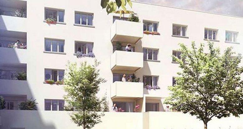 Achat / Vente immobilier neuf Vaulx-en-Velin proche arrêt Maurice Thorez (69120) - Réf. 1301
