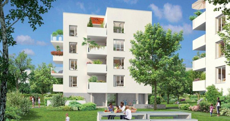Achat / Vente immobilier neuf Vaulx-en-Velin proche avenue Georges Rougé (69120) - Réf. 1975