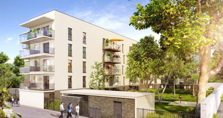 Achat / Vente immobilier neuf Vaulx-en-Velin proche commerces et transports (69120) - Réf. 1631