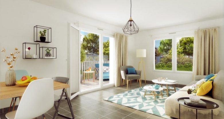 Achat / Vente immobilier neuf Vaulx-en-Velin proche de Lyon (69120) - Réf. 2239
