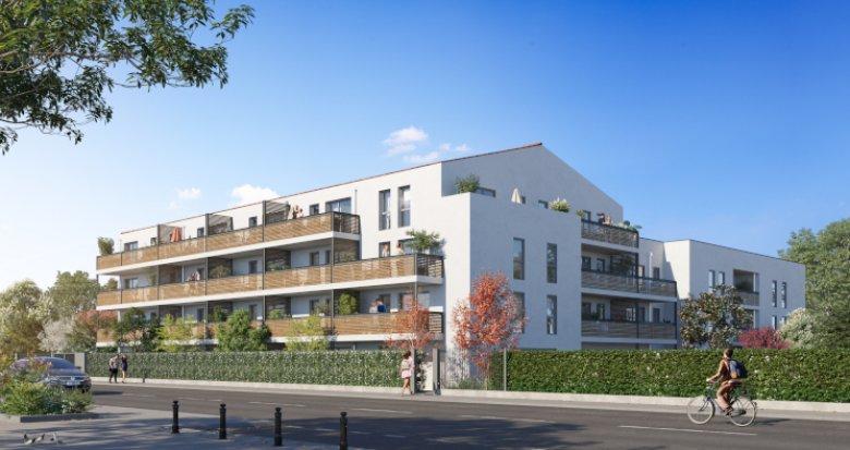Achat / Vente immobilier neuf Vaulx-en-Velin proche métro A (69120) - Réf. 5582