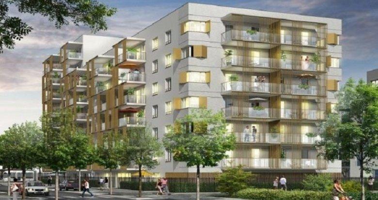 Achat / Vente immobilier neuf Vaulx-en-Velin quartier connecté La Soie (69120) - Réf. 905