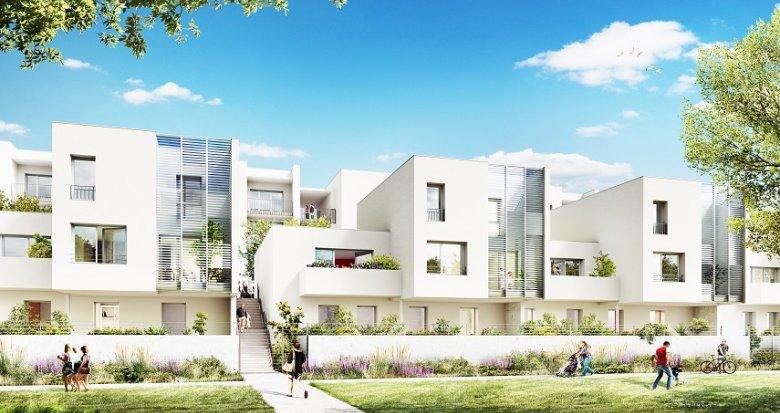 Achat / Vente immobilier neuf Vaulx-en-Velin quartier de la Grappinière (69120) - Réf. 2041