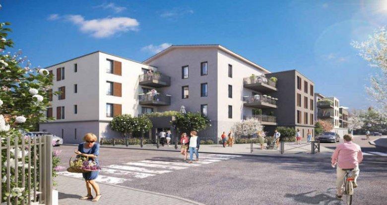 Achat / Vente immobilier neuf Vaulx-en-Velin quartier Le Village (69120) - Réf. 3364