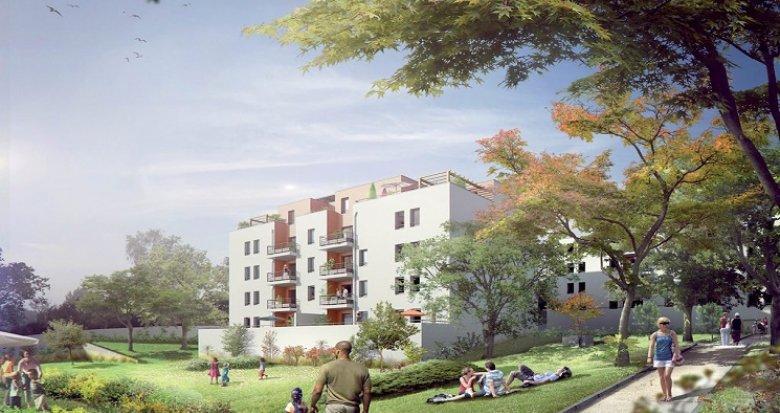 Achat / Vente immobilier neuf Vénissieux 15 minutes Lyon Part-Dieu (69200) - Réf. 657