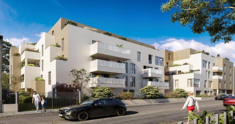 Achat / Vente immobilier neuf Vénissieux à 400m du nouveau Tram T6 (69200) - Réf. 5626