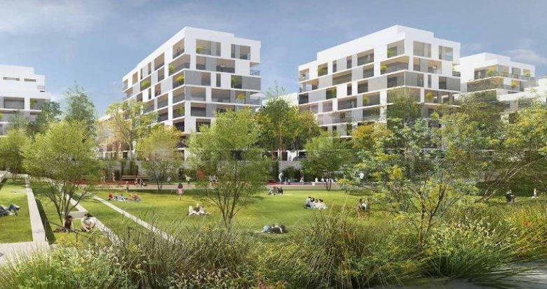 Achat / Vente immobilier neuf Vénissieux au coeur du Grand Parilly (69200) - Réf. 4005