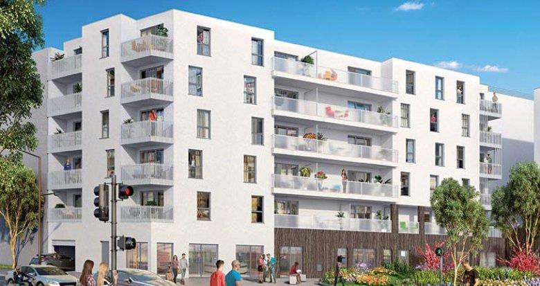 Achat / Vente immobilier neuf Vénissieux proche arrêt de Tramway Croizat-Paul Bert (69200) - Réf. 1104