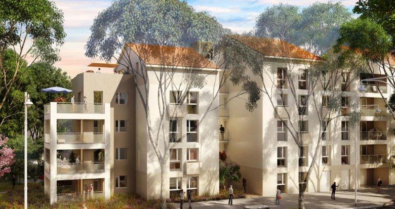 Achat / Vente immobilier neuf Vénissieux proche de l'arrêt de métro Parilly (69200) - Réf. 2323