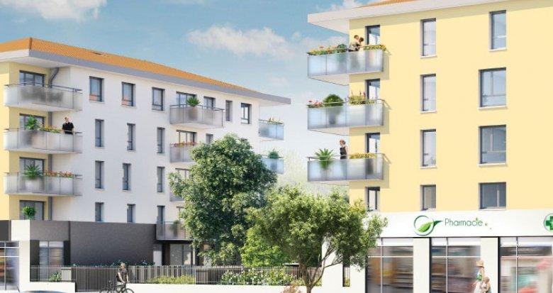 Achat / Vente immobilier neuf Vénissieux proche établissements scolaires (69200) - Réf. 793
