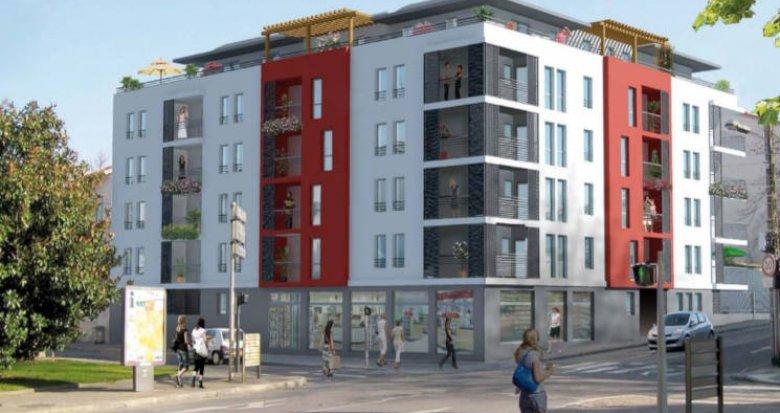 Achat / Vente immobilier neuf Vénissieux proche gare (69200) - Réf. 3373