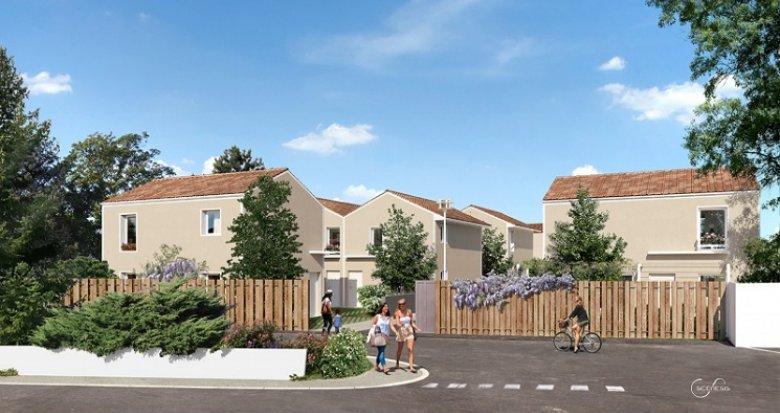 Achat / Vente immobilier neuf Vénissieux proche parc de Parilly (69200) - Réf. 1770